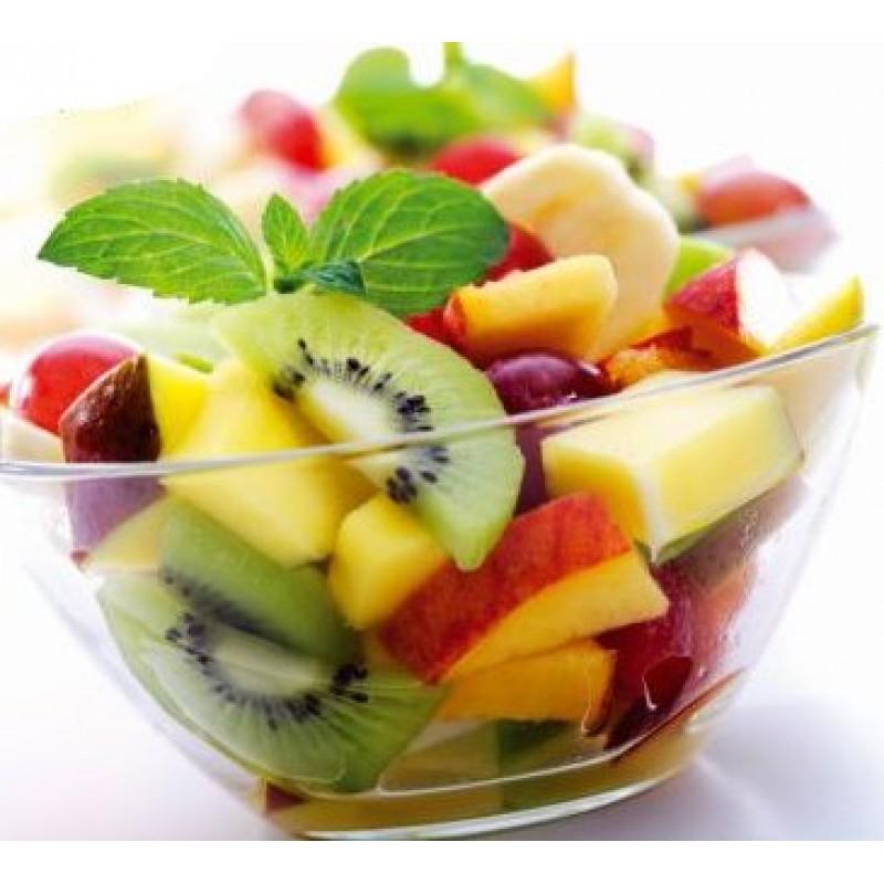 een overheerlijke frisse fruitsalade à la piet huysentruyt